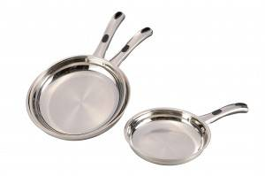 Stainless Steel Cooking Fry Pan Set-No.cp001