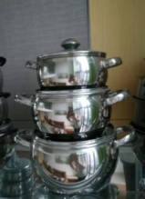 Stainless Steel Cookware Set-No.cp13