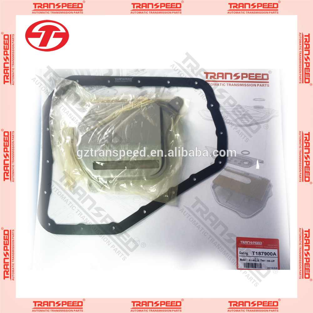 AW81-40LE automatic transmission oil filter with gakset kit fit for CHRYSLER.