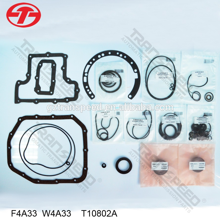 F4A33 w4a33 automatic transmission overhauling gasket kit transmission parts