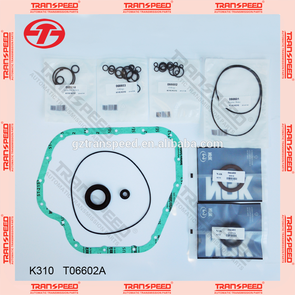 Transpeed K310 automotive overhaul kit repair kit gasket kit for COROLLA