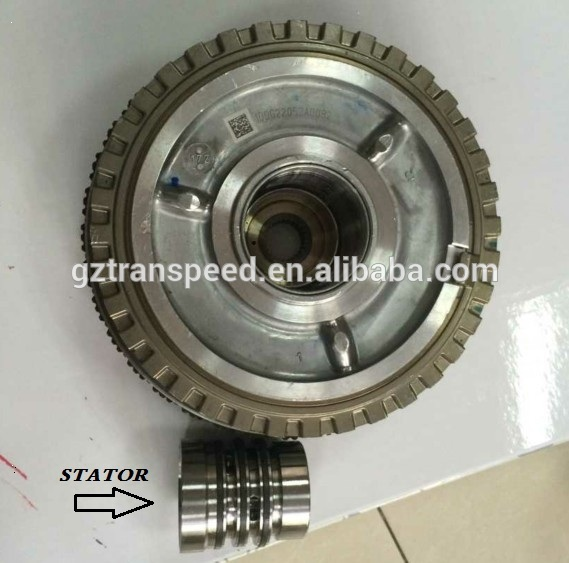 Transpeed Automatic automotiv gearbox transmission 6T45E late type input drum assembly with stator for GM