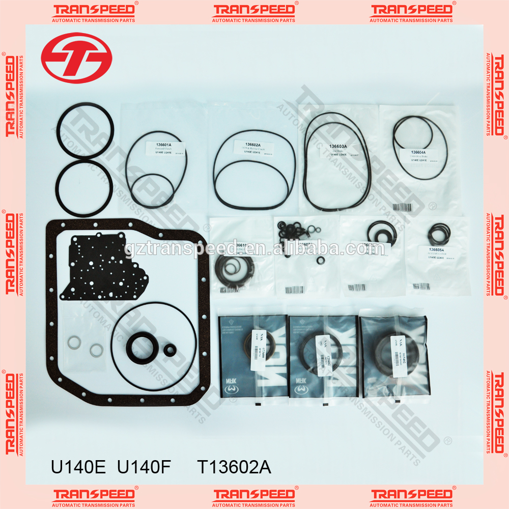 Transpeed U140E U140F Transmission overhaul Kit gasket kit for spare parts
