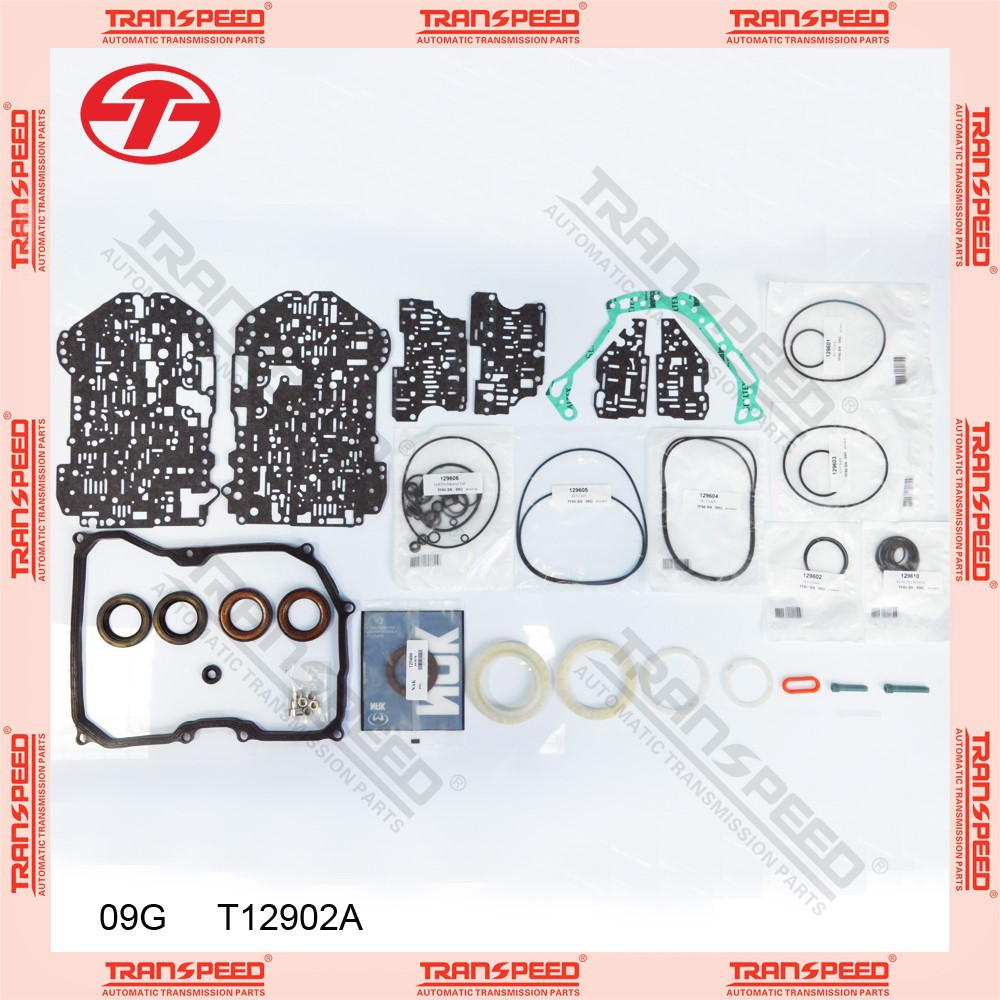 Rebuild automatic transmission overhaul kit T12902A 09G TF-60SN for vw bora
