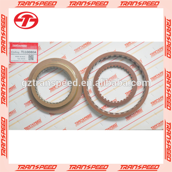AW50-40LE/41LE/42LE automatic friction kit transpeed T110080A for CHRYSLER gearbox spare parts 95-up Featured Image