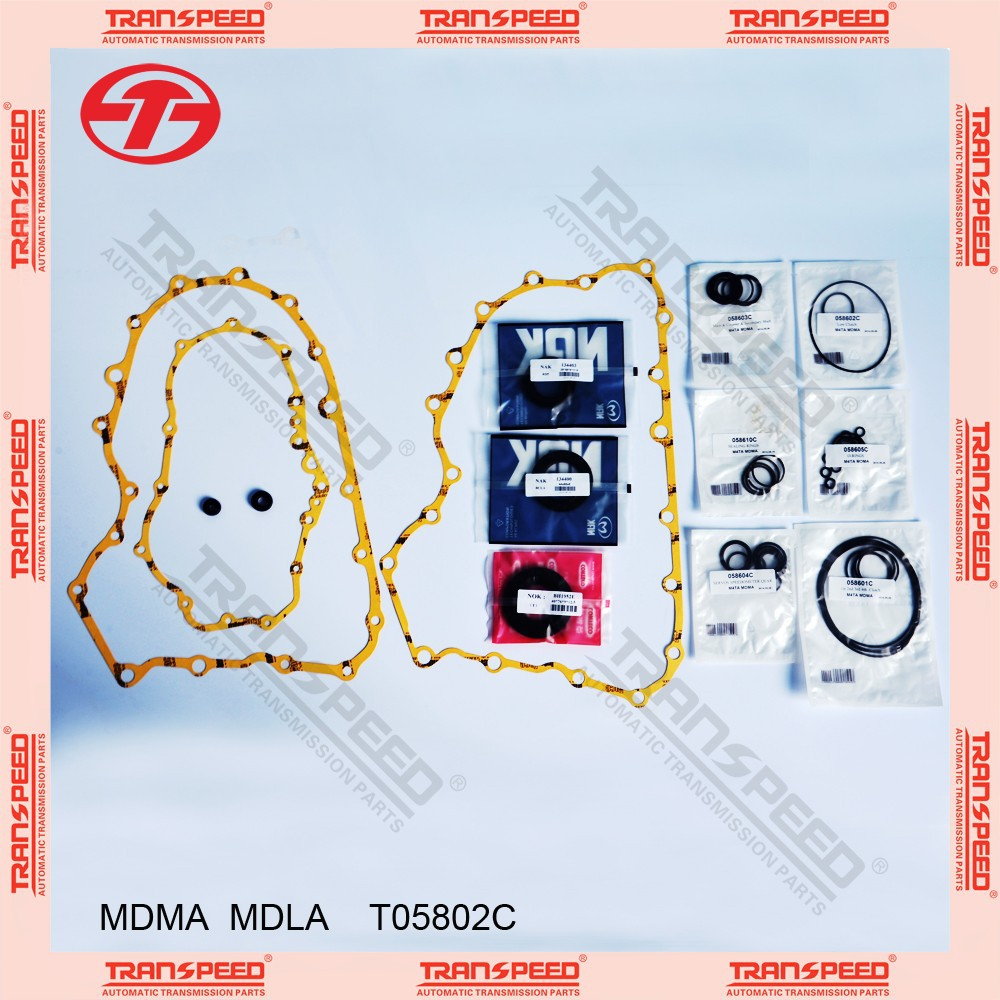 TRANSPEED MDLA T05802C Automatic transmission overhaul kit gasket kit