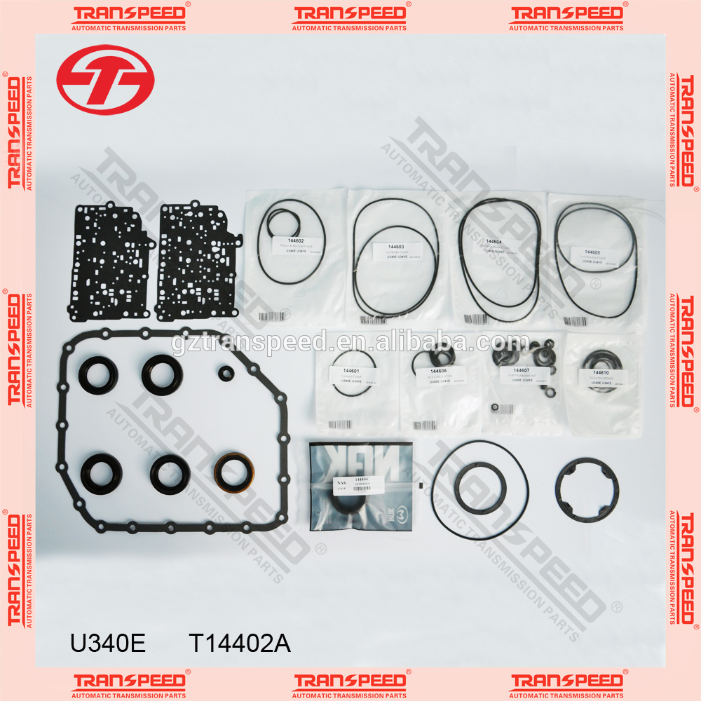 Transpeed U340E Transmission overhaul Kit gasket kit spare parts