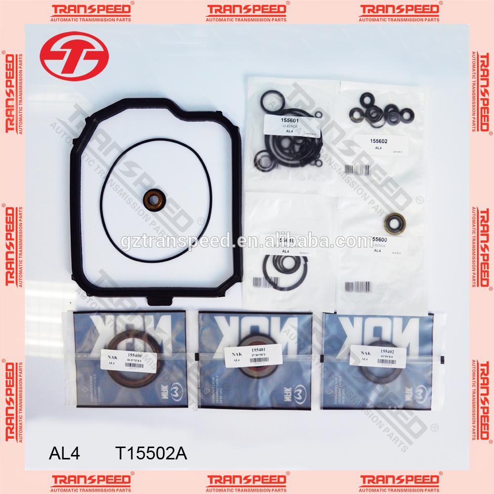 Transpeed AL4 DPO auto gearbox repair kit transmission seal kit for renault dpo transmission