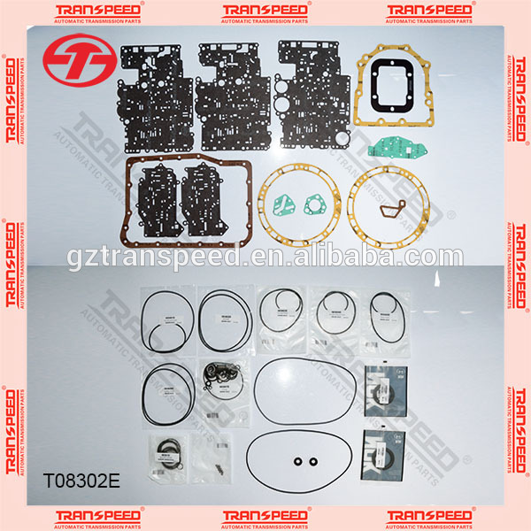 Transpeed AW450-43LE Transmission overhaul kit T08302E. Featured Image