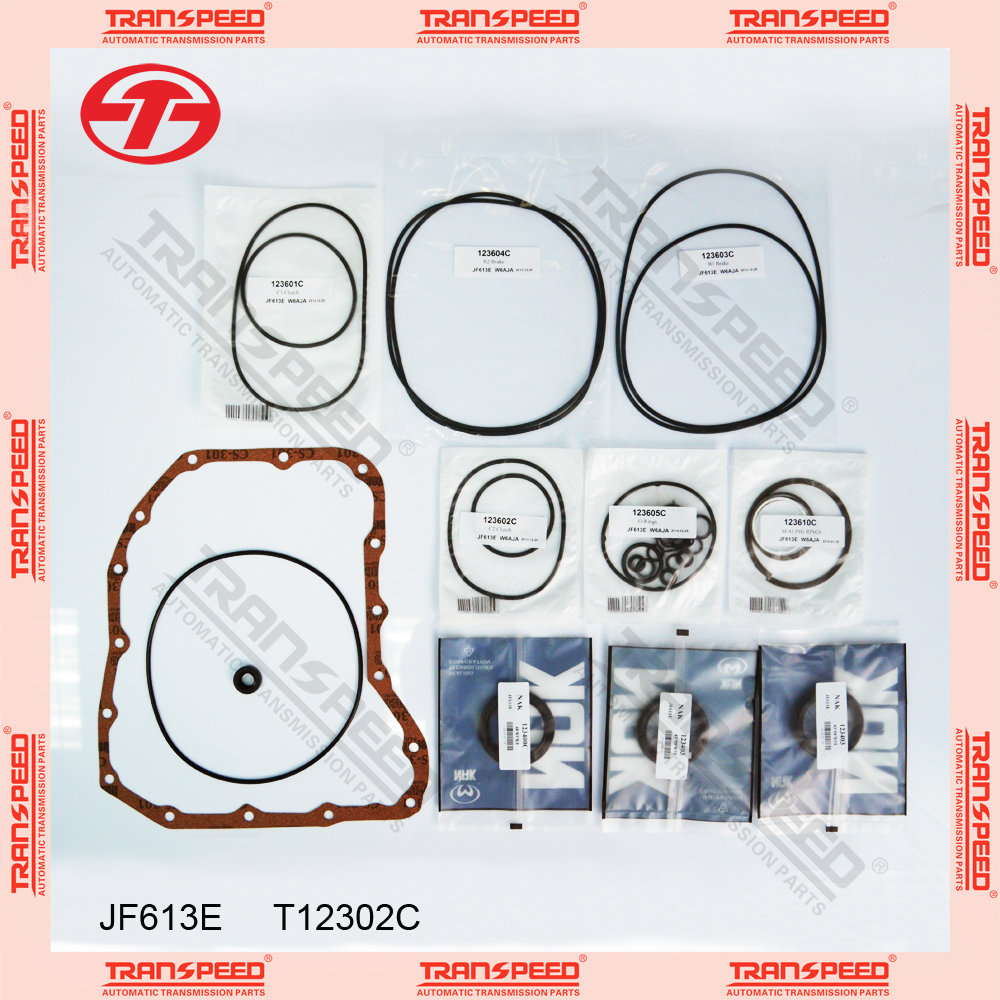 TRANSPEED JF613E T12302C Automatic transmission overhaul kit gasket kit Featured Image