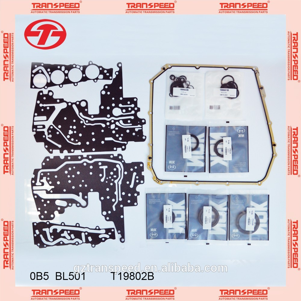 Transpeed 0B5/DQ501 automatic transmission master rebuild kit fit for VOLKSWAGEN.