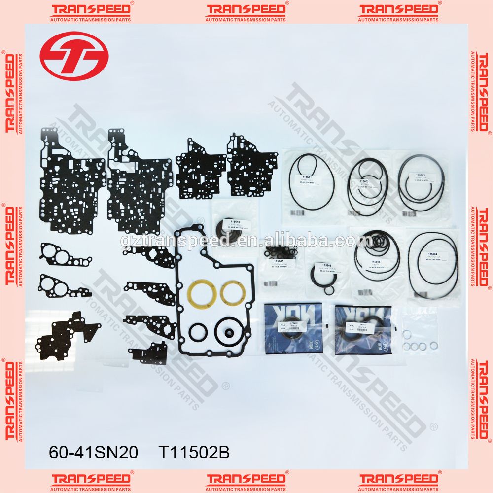 Top Gasket manufacturer AW60-40SN head gasket kit transpeed overhaul kit T11502B
