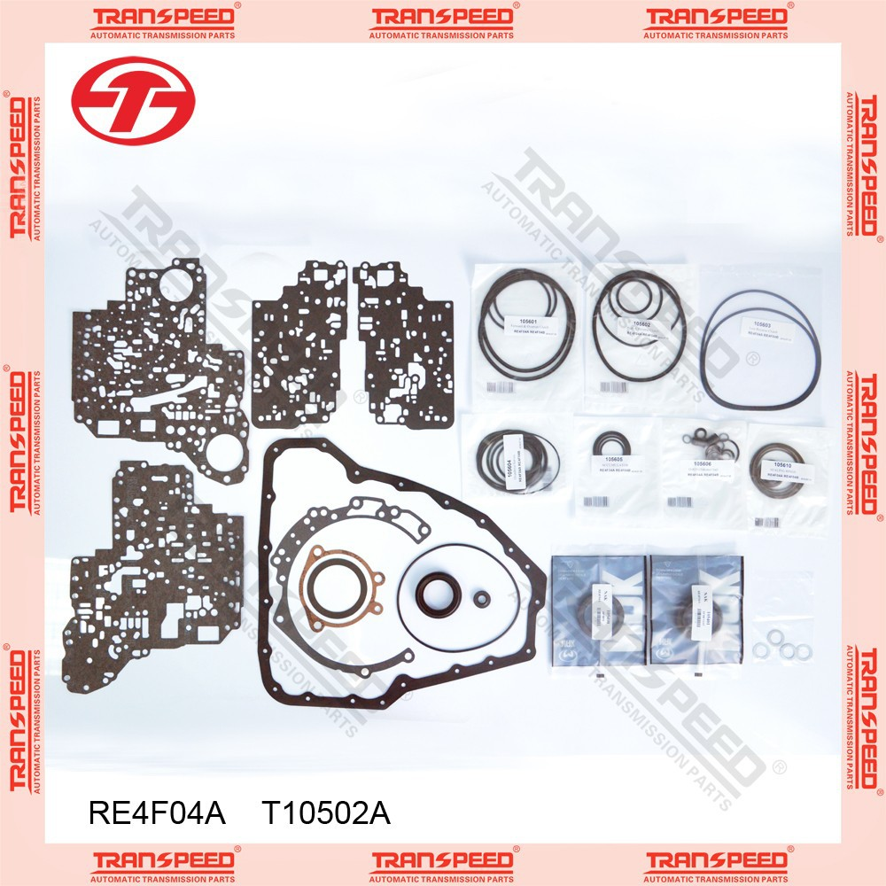 TRANSPEED RE4F04A T10502A Automatic transmission overhaul kit gasket kit