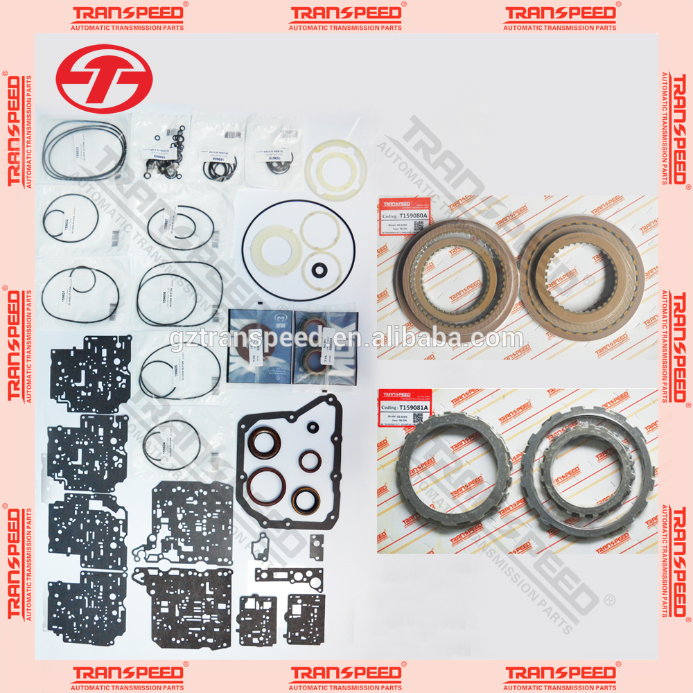 Transpeed hot sale automatic transmission master rebuild kits for Aisin Warner AW55-50SN