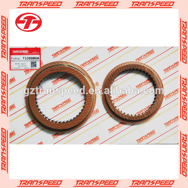 F4A33 automatic transmission friction kit transpeed T108080A China manufacturer for MITSUBISHI gear box spare parts