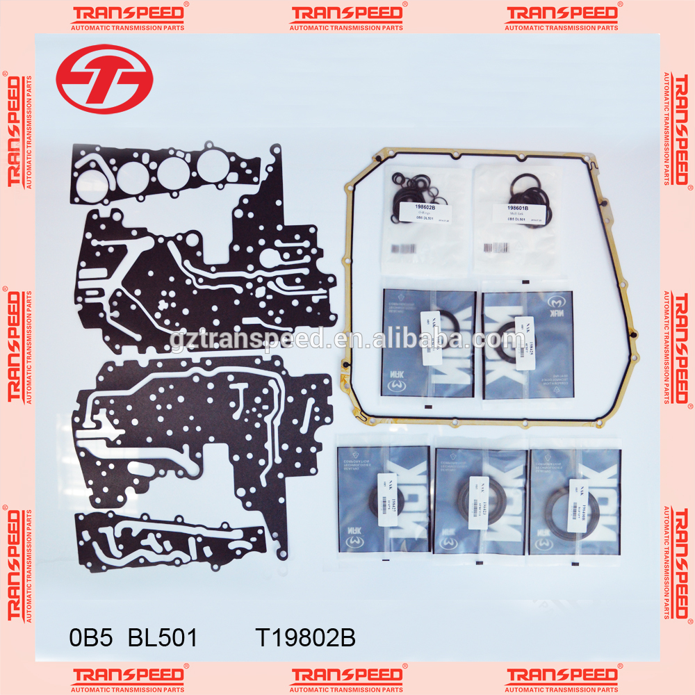 Transpeed transmission gearbox OB5/DQ501 overhaul kit/ repair gasket kit for VOLKSWAGEN.