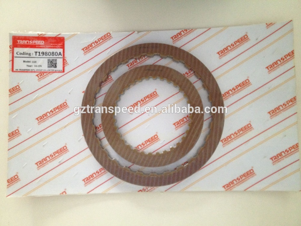 dsg dq250 02E automatic transmission friction kit lintex transmission friction plate fit for VOLKSWAGEN.