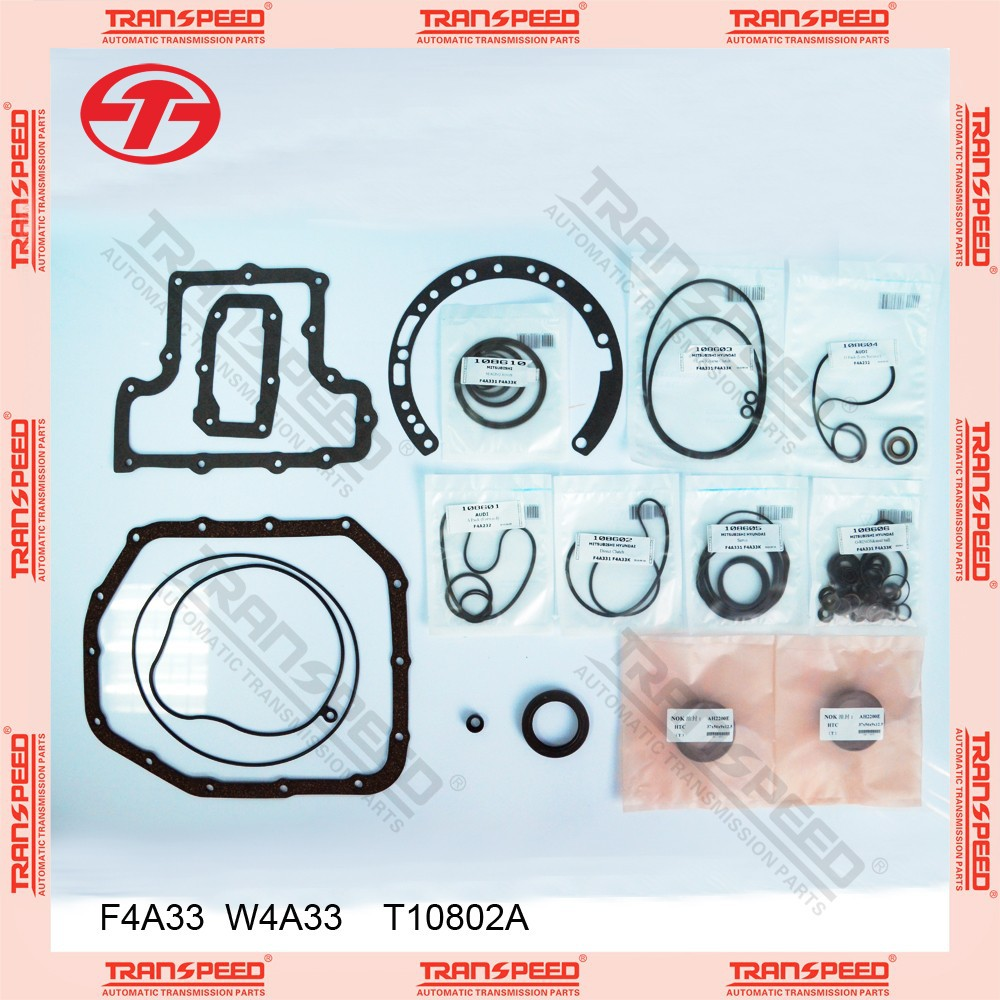 TRANSPEED F4A33 W4A33 T10802A Automatic transmission overhaul kit gasket kit