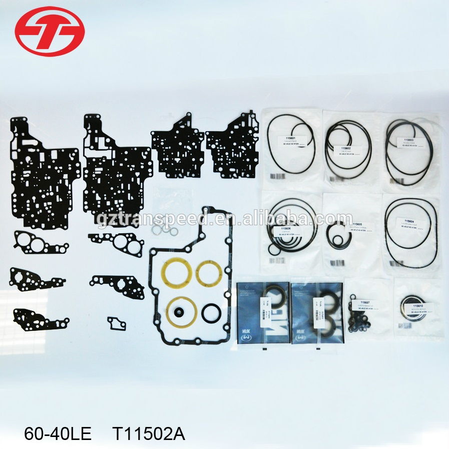 best selling aw60-40le transmission gearbox full set gasket repair kit