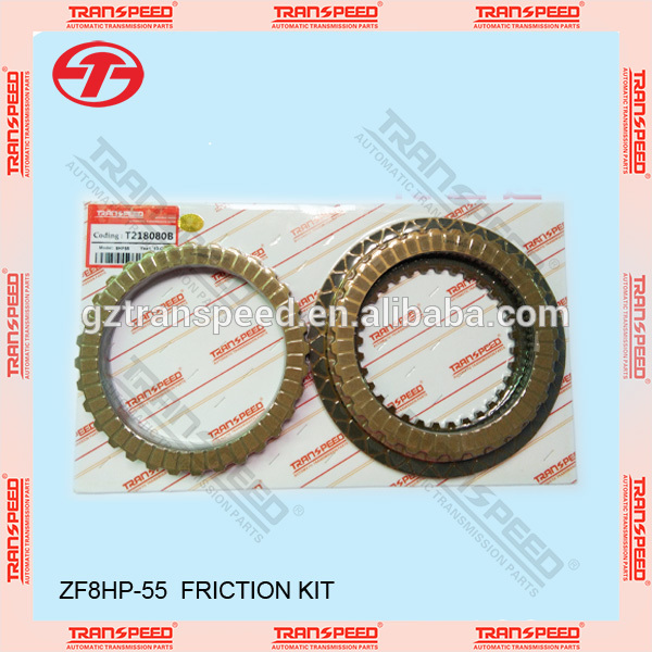 Transpeed gearbox transmission 8HP-55 0BK friction kit T218080B clutch kit Featured Image
