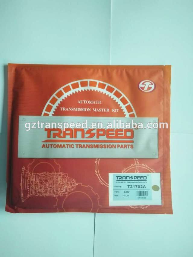 Transpeed Automotiv Automatic transmission gearbox 0AM DQ200 T21702A overhaul kit/ repair gasket kit
