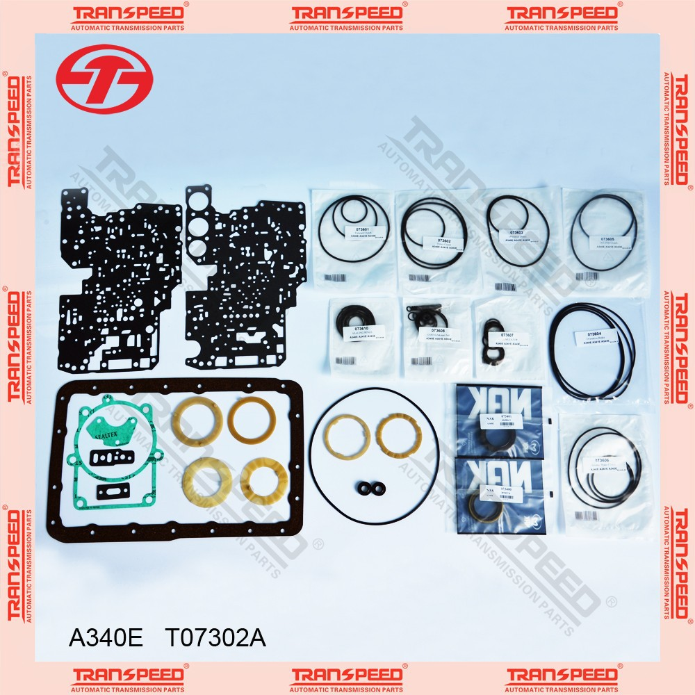 A340E Automatic transmission overhaul kit gasket kit T07302A