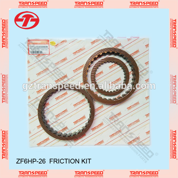 Transpeed 6HP26 transmission friction kit. 6hp26 disc kit Featured Image