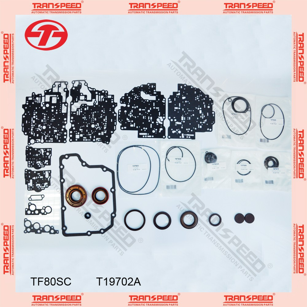 TRANSPEED TF80SC T19702A Automatic transmission overhaul gasket kit