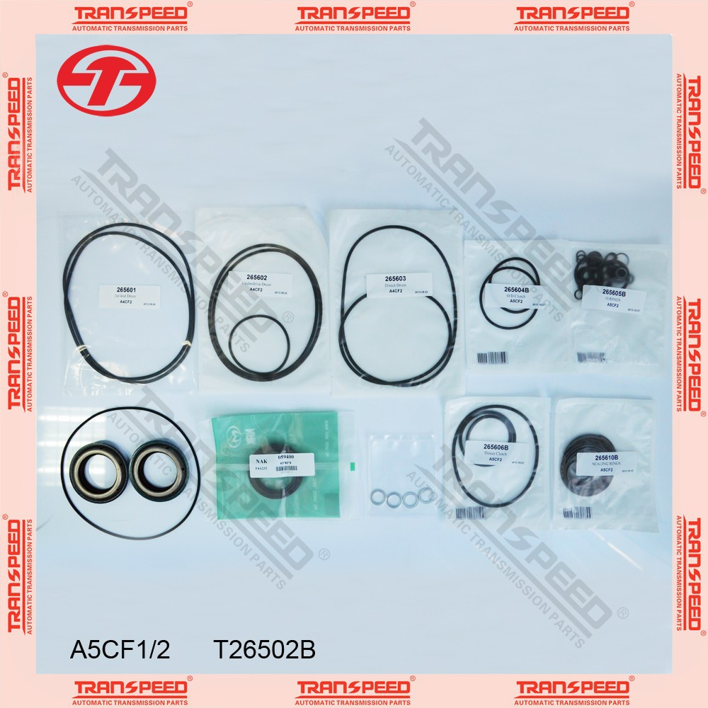 A5CF1 A5CF2 Automatic transmission overhaul kit gasket kit T26502B for HYUNDAI