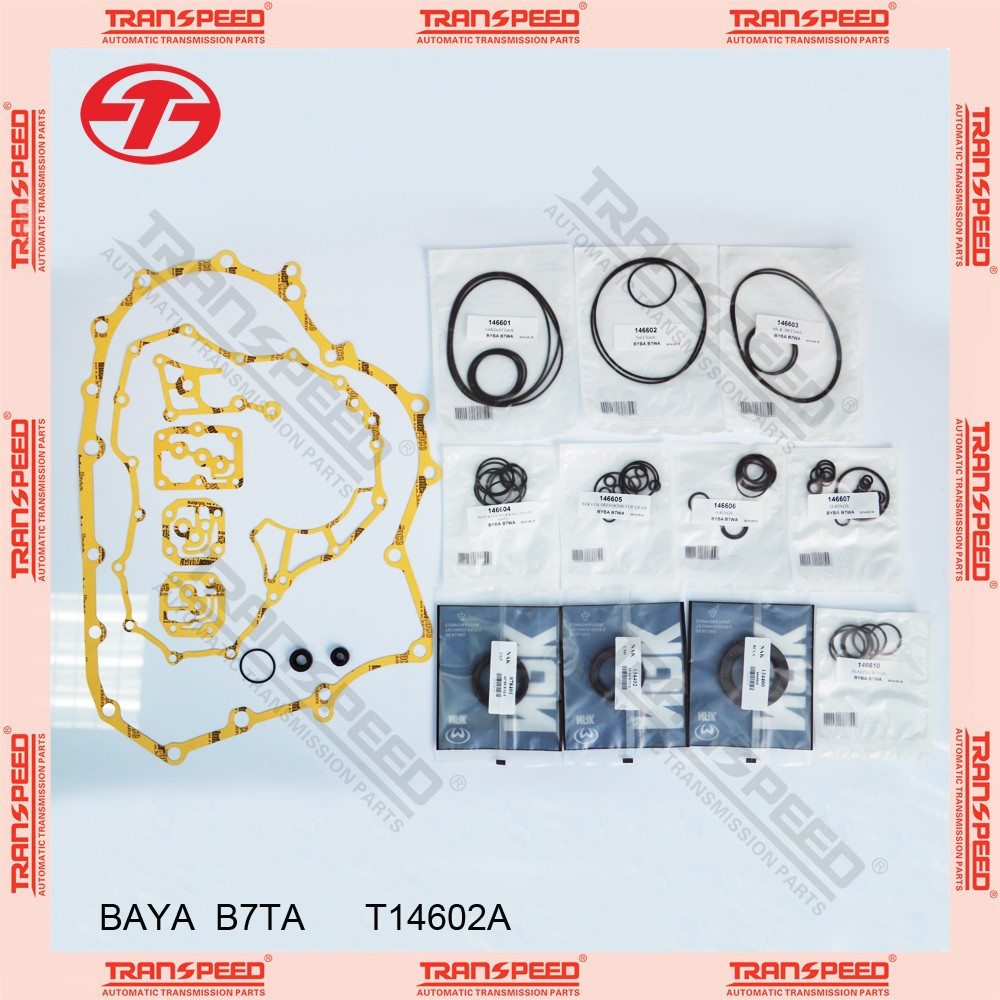 TRANSPEED BAYA B7TA Automatic transmission overhaul kit T14602A gasket kit