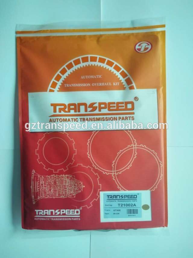 Transpeed transmission gearbox 6T30E overhaul kit T21002A seal kit repair gasket kit