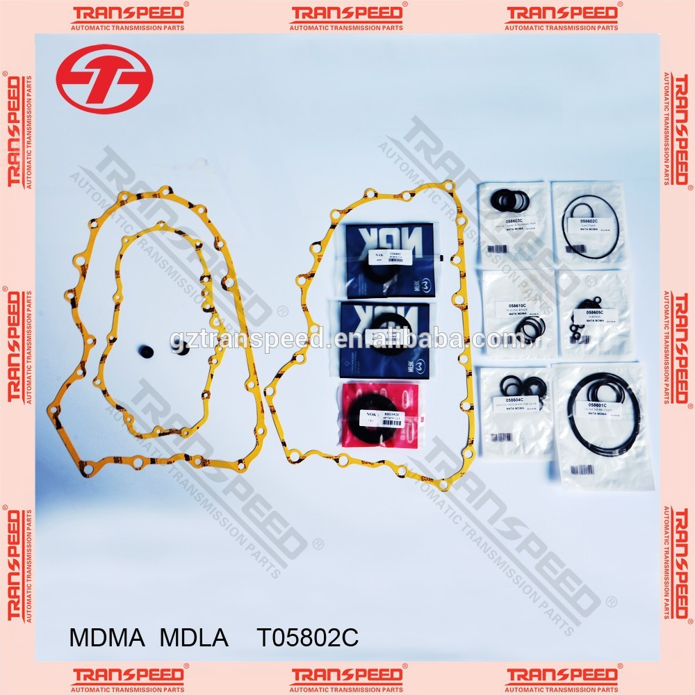 Transpeed MDLA/M4TA/RD1 transmission overhaul kits T05802C. Featured Image