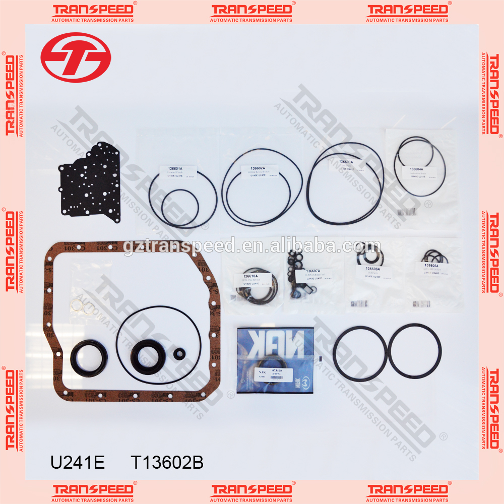 Transpeed U241E Transmission overhaul kit seals and gasket kit Featured Image