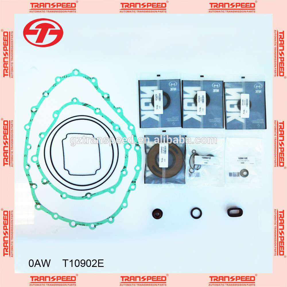 Transpeed Automatic transmission gearbox 0AW overhaul kit/ repair gasket kit for AUDI