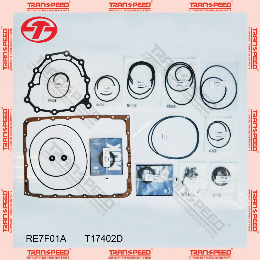 TRANSPEED RE7F01A T17402D Automatic transmission overhaul gasket kit