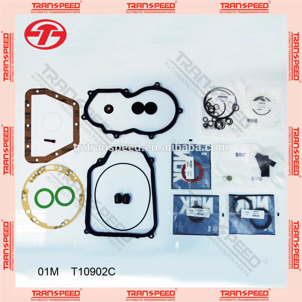 01m automatic overhaul kit full gasket seal kit T10902c fit for volkswagen 01m automatic transmission