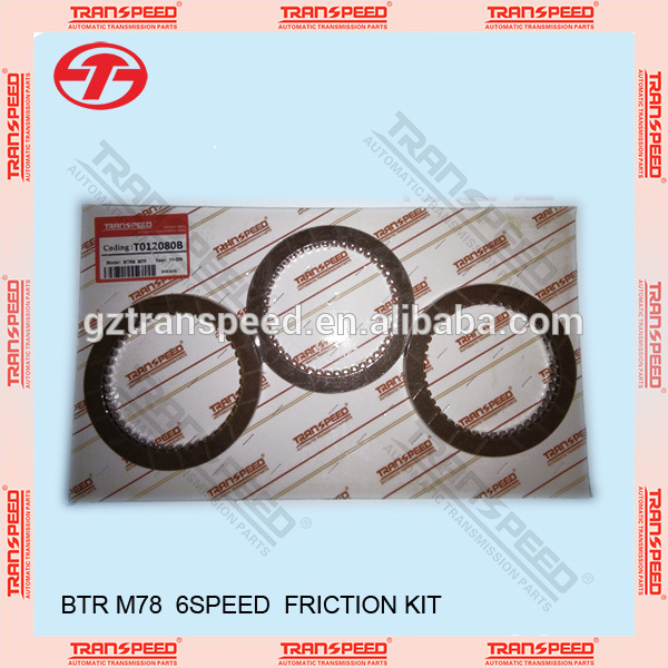 BTR 6 speeds M78 transmission friction kit