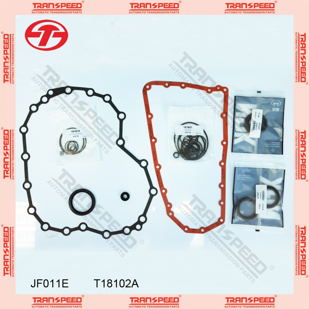 TRANSPEED JF011E T18102A Automatic transmission overhaul gasket kit