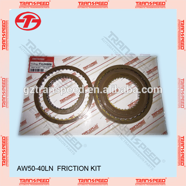 Transpeed gearbox AW50-40LN friction kit