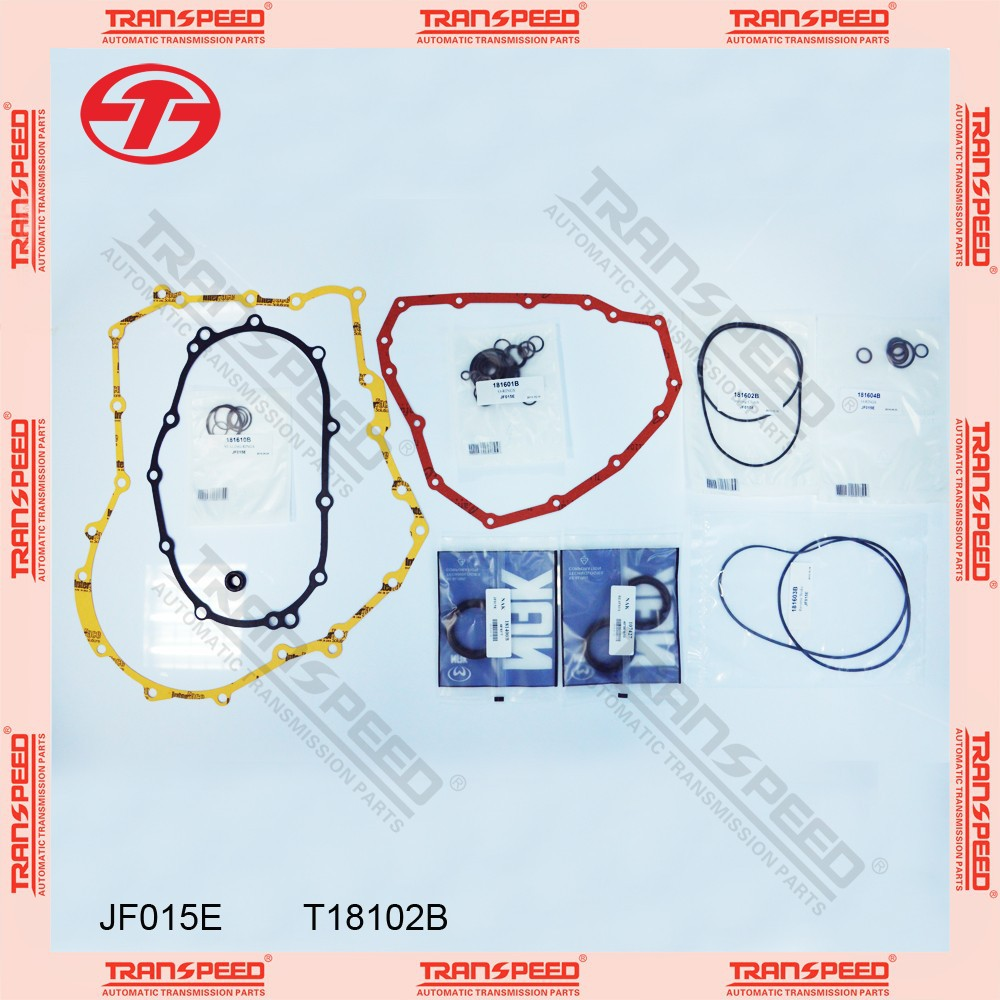 TRANSPEED JF015E T18102B Automatic transmission overhaul gasket kit