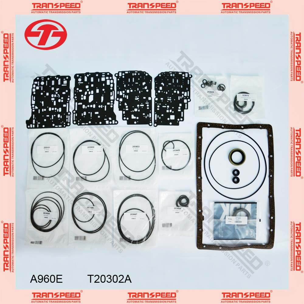 TRANSPEED A960E Automatic transmission overhaul kit T20302A for gasket kit
