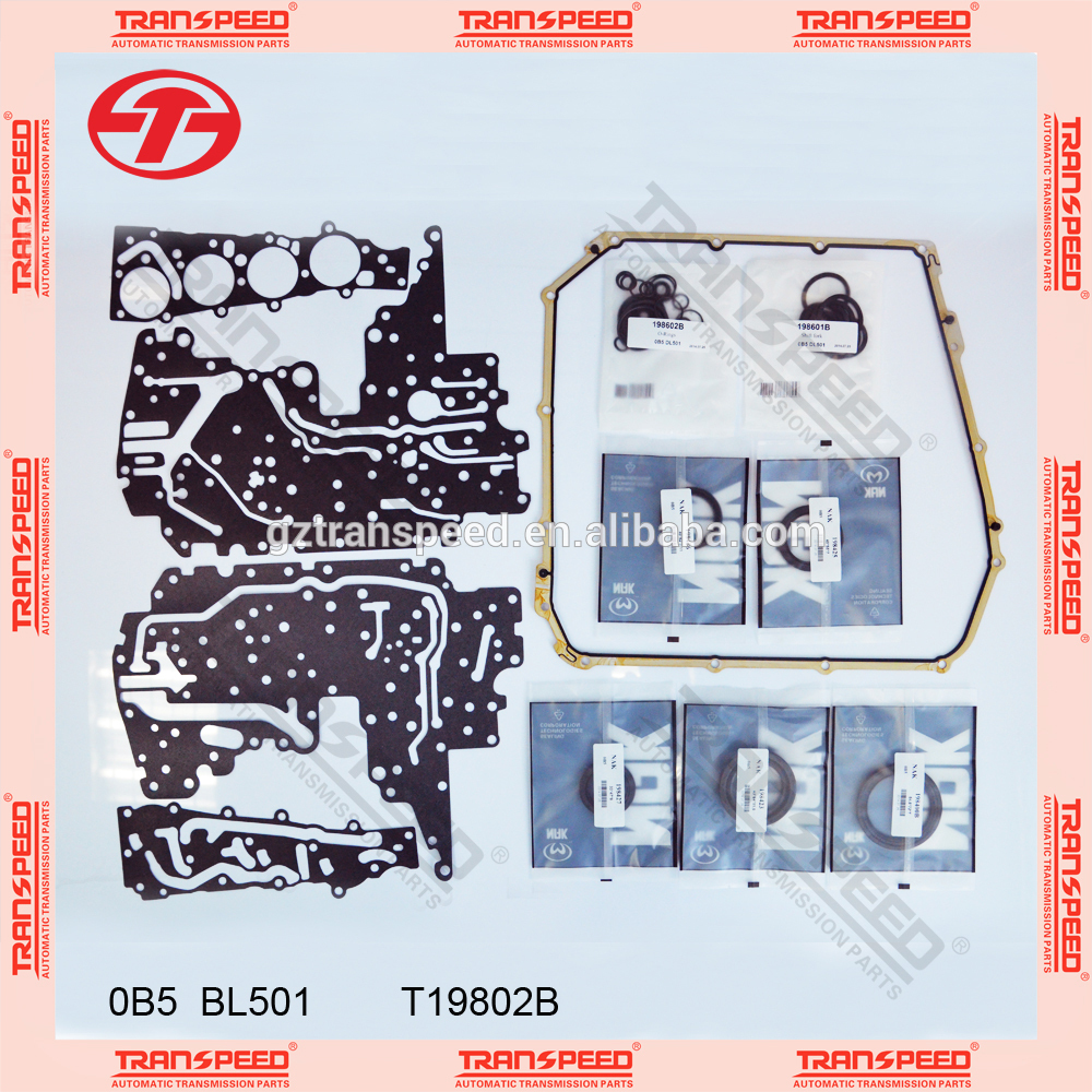 transpeed transmission gearbox engine overhaul gasket set OB5 DL501 for Q5