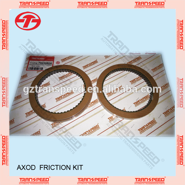 Transpeed transmission AXOD friction kit T069080A Featured Image