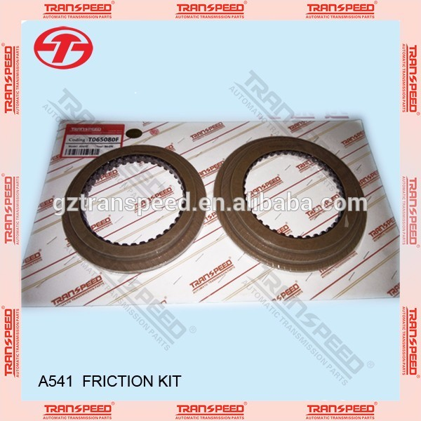 clutch friction plate kits T065080F fit for transmission no:A541E