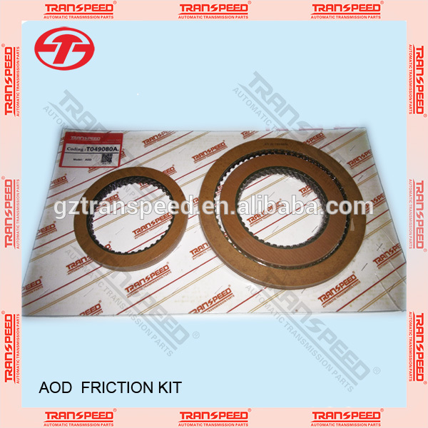 Transpeed transmission AOD friction kit Featured Image