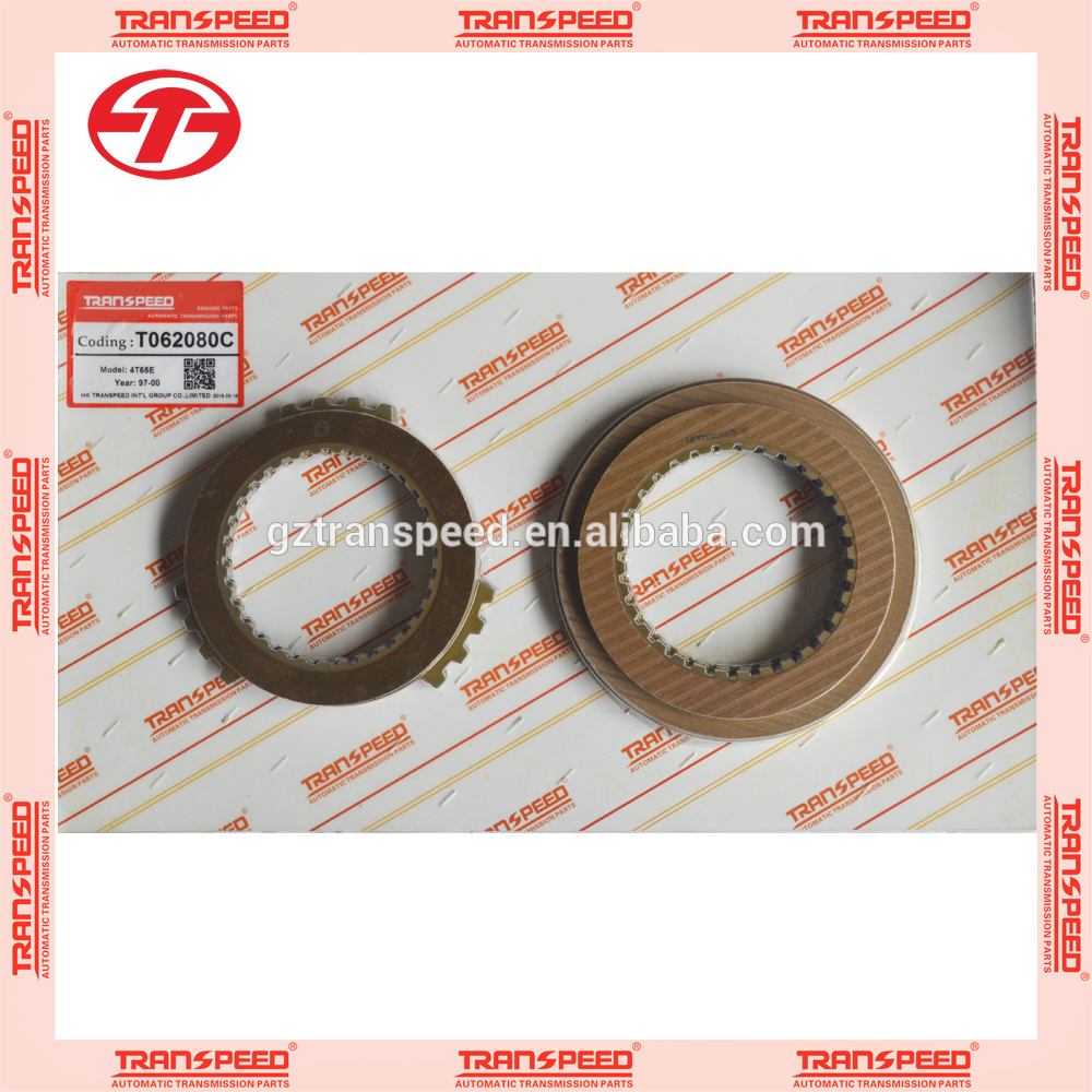 Transpeed automatic transmission 4T65E friction plates kit for Buick