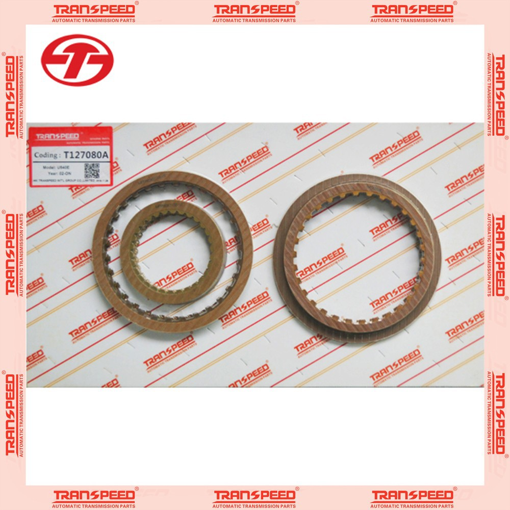 Hot sale friction kit transpeed U540E friction plate clutch kit T127080A