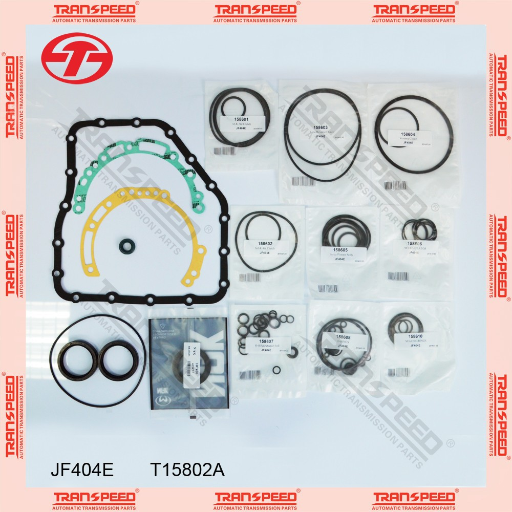 TRANSPEED JF404E T15802A Automatic transmission overhaul gasket kit
