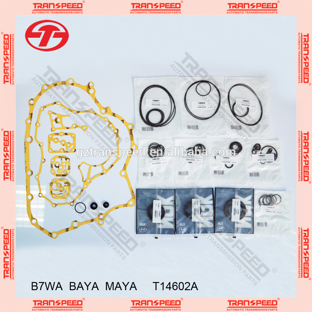 Transpeed Automatic transmission B7WA/BAYA/CM6 overhaul kit gasket kit