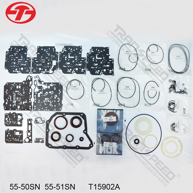 transpeed aw55-50sn overhaul kit seals kit transmission parts